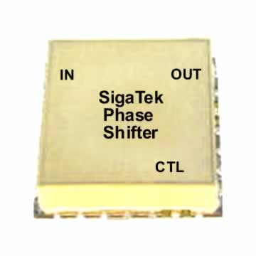 Surface mount Analog voltage controlled phase shifters 180 and 360 degrees