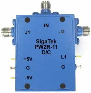 PW2R-11 Pin Diode Switch SPDT Reflective 0.5-4.0 Ghz
