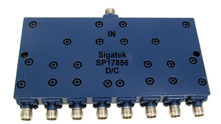 SP17856 Power Divider 8 way 4.0-8.0 Ghz