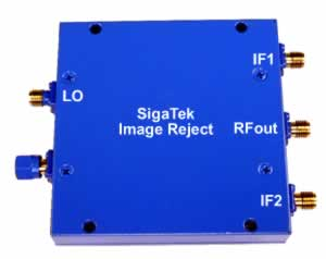 Image Reject Mixers up to 16 Ghz
