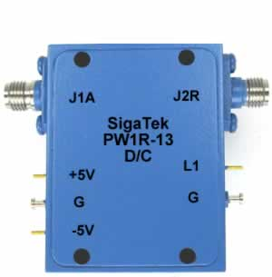 PW1R-13 Pin Diode Switch Reflective 0.5-12.4 Ghz