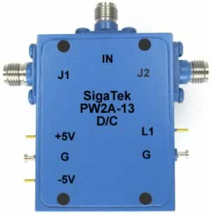 PW2A-13 Pin Diode Switch SPDT Absorptive 0.5-12.4 Ghz