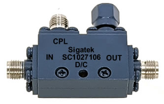 SC1027106 Directional Coupler 10 dB 7.0-12.4 Ghz