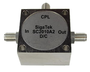 SC2010A2 Directional Coupler 20 dB 1-500 Mhz