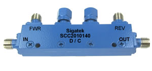Dual Directional coupler 10 dB 20 dB 30 dB up to 40 Ghz