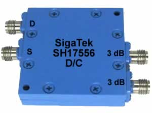 Wideband Hybrids 3 db 180 degree  0.5-18 Ghz