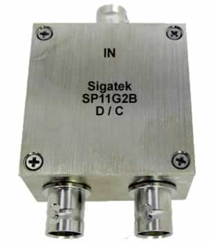 SP11G2B Power Divider 2 way BNC 5-1000 Mhz